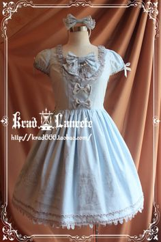 Krad Lanrete Alice's Adventures in Wonderland OP 586.00 (blue)