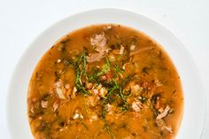 Lamb and lentil soup. Warren Elwin gives roast lamb leftovers a tasty second innings.