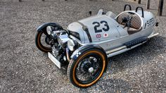 Rocketumblr | Morgan 3 Wheeler Superdry
