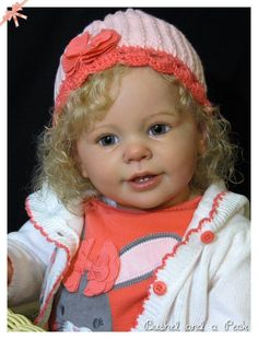 Custom Reborn Toddler Baby Doll Bushel and A Peck Custom Order | eBay