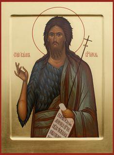 St John the Forerunner [Baptist] / Именные иконы Pictures Of Jesus Christ, John The Baptist, Orthodox Icons, Art, Art Background, Kunst, Performing Arts