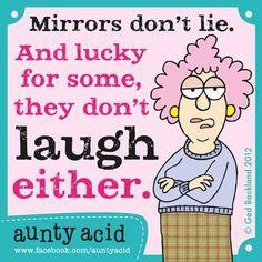 366. AUNTY ACID 1: MIRRORS!