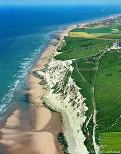 ✈️ Photo aérienne de Cap Blanc Nez - Pas-de-Calais (62)