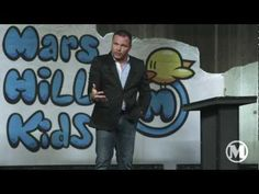 Mark Driscoll is channeling me during this video :) Mark Driscoll, Mars Hill, Sermon Notes, Sunday School, Kids Ministry, Parenting, Reading, Children, Fictional Characters