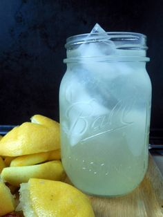 Easy Homemade Lemonade 3 ingredients, perfectly tart and sweet -- you will never make lemonade from a mix again!!