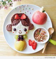 Desayuno blancanieves