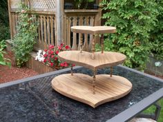 Etsy listing at https://www.etsy.com/listing/159524501/rustic-wooden-wedding-cupcake-stand