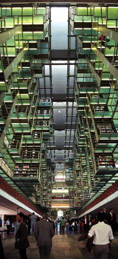 Biblioteca José Vasconselos en la Ciudad de México by Alberto Kalach