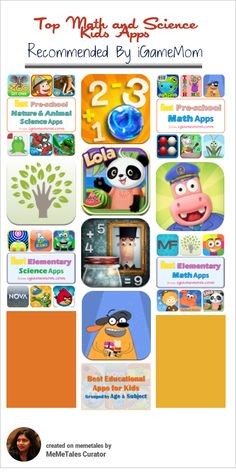 Best Educational Math and Science Apps For Kids by @iGameMom