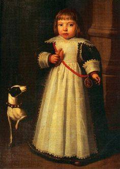 Portrait Of A Young Boy by Cornelius de Vos