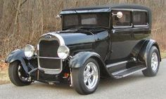 Beautiful, classic, 1920s Ford Model A would make a fabulous get-away car.