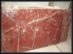 Bhandari marble group  Rosso portro is gorgeous and, looks wonderfull after all finishing has been done, Marble can be use as wall cladding, bar top, fireplace surround, sinks base, light duty home floors, and tables.