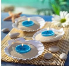 Seashell Centerpieces And Table Ideas For Beach Weddings