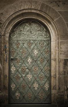 Ancient Door - photograph by Maria Heyens