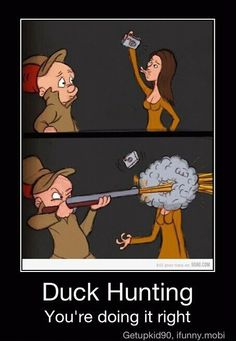 The Duck (Face) Hunting