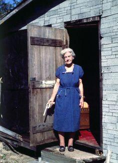 Pistol Packin' Grandma take 2