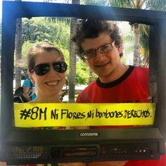 #8M #NiFloresNiBombones #Derechos #DiaInternacionalDeLaMujer trabajadora #LaTVdelaCalle