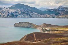 Коктебельская бухта, жемчужина Крыма