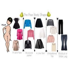 The Pear Body Shape by minimaliststylist