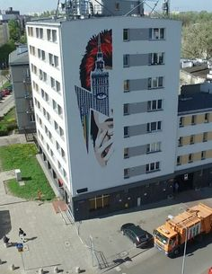 Poland, Warsaw, mural for David Bowie, #ideamo #davidbowie #mural #bowiemural #zoliborz #poland