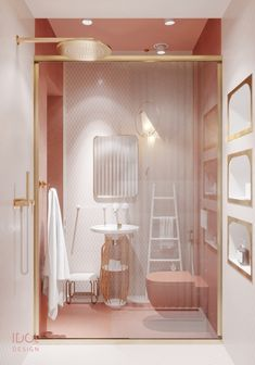 Perfect Image, Perfect Photo, Love Photos, Cool Pictures, Bath Room, Pink White, Grey, Interior, Ash