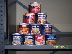 Here are examples of the flavor varieties of Vienna sausage and some of the brands that package this food.