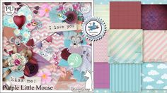 Purple Little Mouse by KittyScrap http://scrapbird.com/designers-c-73/k-m-c-73_516/kittyscrap-c-73_516_253/