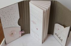 Mini Albums, Diy Mini Album, Mini Scrapbook Albums, Origami Lampshade, Stationary Gifts, Book Binding, Book Journal, Stamping Up, Mini Books