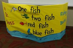 Dr. Seuss One Fish Two Fish Fishing Booth game