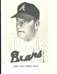 5X7 LUM HARRIS ATLANTA BRAVES B/W PICTURE PACK PHOTO . $20.00. MGR. LUM HARRISATLANTA BRAVES5X7 PICTURE PACK PHOTOSEE IMAGE FOR CLEARER AND LARGER VIEWITEM PICTURED IS ACTUAL ITEM RECEIVED GREAT AUTHENTIC BASEBALL COLLECTIBLE!