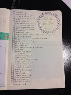 "awalkinghurricane: ""Added another page to next years bullet journal (can you tell I'm excited?) """