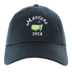 398d9a99f6617 2019 Dated Masters Black Caddy Hat. Baseball Hats ...