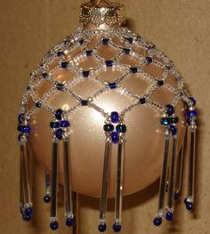 Free Beaded Christmas Ornament Patterns   beaded christmas ornaments free…