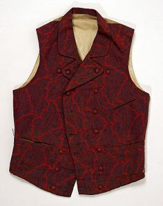 A Proper, Psychedelic Gentleman: Fashionably Fancy 1840s and 1850s Waistcoats | The Pragmatic Costumer