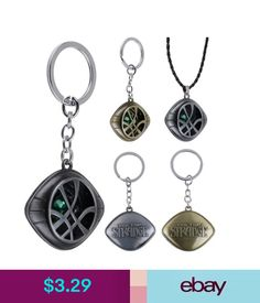 Necklaces & Pendants Men Women Dr Doctor Strange Eye Of Agamotto Shape Pendant Chain Necklace #ebay #Fashion