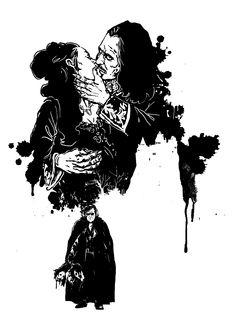 Drácula un Monstruo sin Reflejo. Cien años sin Bram Stoker 1912-2012, Varios autores: Tratado sobre la inmortalidad de los vampiros. Ilustración de Mariano Fernández de Henestrosa para Fabulantes - http://www.fabulantes.com/2012/11/dracula-un-monstruo-sin-reflejo-varios-autores/#.VCHTi_l_vfI