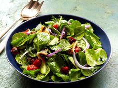 Spinach-Pita Salad Recipe : Food Network Kitchen : Food Network - FoodNetwork.com