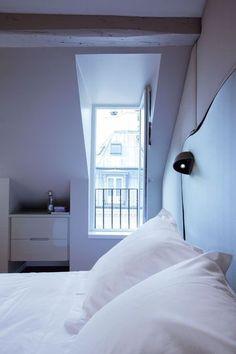 Tête de lit à éclairage intégré