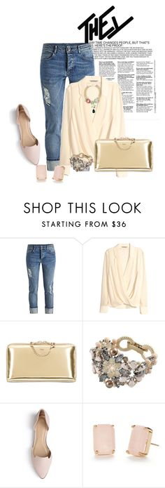 """""""Untitled #2370"""" by janicemckay ❤ liked on Polyvore featuring H&M, Chloé, Vintage Addiction, Journee Collection, Kate Spade, BERRICLE, women's clothing, women, female and woman"""