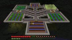 Minecraft Floating Farm