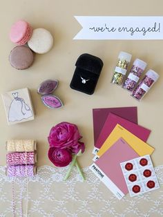 Send a Wedding Style Board | Wedding Save-the-Date and Engagement Announcement Ideas >> http://www.diynetwork.com/decorating/wedding-save-the-date-and-engagement-announcement-ideas/pictures/index.html?soc=pinterest