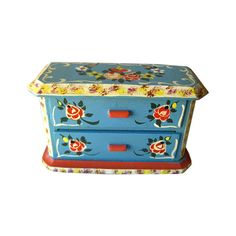 Miniature Hand Painted Dresser by Dora Kuhn West by openslate