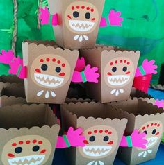 Disney Moana Party Snack Boxes | Pretty My Party