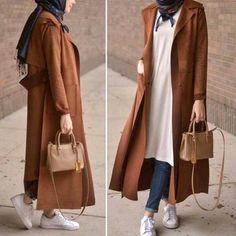 nice Best hijab colours to wear with denim – Just Trendy Girls. Hijab Casual, Hijab Chic, Islamic Fashion, Muslim Fashion, Modest Fashion, Fashion Outfits, Hijab Elegante, Moslem, Modele Hijab