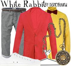 Disneybound   White Rabbit (Alice in Wonderland)