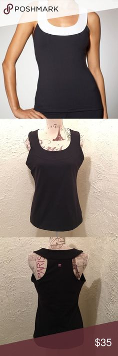 🆕Zobha Black Grace Workout Top Size 10 NWOT Zobha Black Grace Tank Size 10- perfect for larger . 87% Supplex Nylon and 13% Spandex. Bust women with built in bra. Perfect for workout , spots and yoga Zobha Tops Tank Tops
