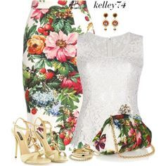 Dolce & Gabbana, created by kelley74 on Polyvore