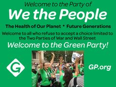 GP.org #GreenParty