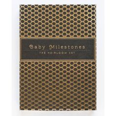 Baby Milestones Box Set by Sycamore Street Press