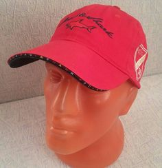 Paul+&+Shark+Style+Sport+Baseball+Cap+New+Hat+Adjustable+Red+#001